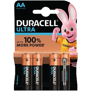 Blister de 4 Duracell Ultra Power AA (MX1500B4)