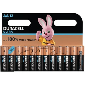 Blister de 12 Duracell Ultra Power AA (MX1500B12)