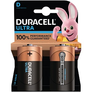 Blister de 2 Duracell Ultra Power D (MX1300B2)