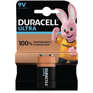 Pile 9V Duracell Ultra Power (MX1604B1)