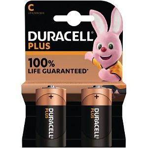 Duracell Plus Power de type C (Pack de 2) (MN1400B2)