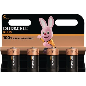 Duracell Plus Power de type C (Pack de 4) (MN1400B4)