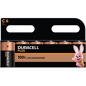 Duracell Plus Power de type C (Pack de 6) (MN1400B6)