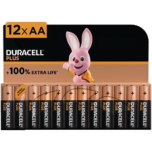 Duracell Plus Power AA Pack de 12 (MN1500B12)