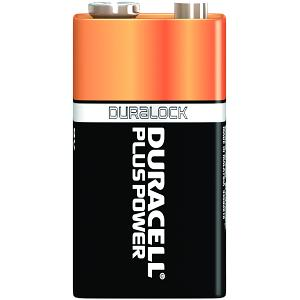 Duracell Plus Power 9v PP3 Pack de 4