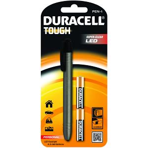 Torche LED Crayon Duracell & 2AAA