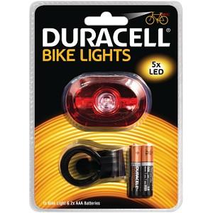 Lampe arrière de vélo 5 LED Duracell (BIK-B03RDU)