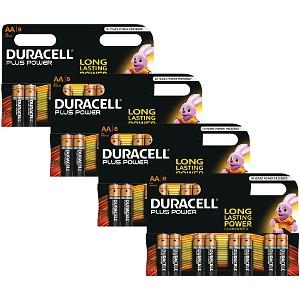 Duracell Plus 4 x 8 Packs (BUN0047A)