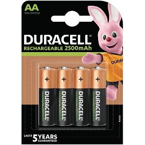 Duracell Pré-chargées AA 2400mAh (HR06-P)