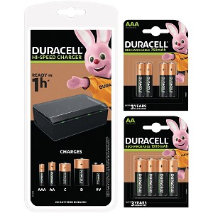 Duracell Ensemble chargeur et piles (BUN0073A-EU)