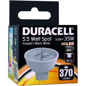 Duracell Spot LED GU5.3 5.5W clair (DRLEDS15)