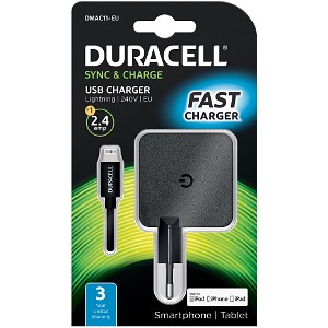Duracell Chargeur AC pour iPad, iPhone & iPad (DMAC11-EU)