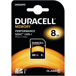 Carte Mémoire Duracell 8GB SDHC UHS-I