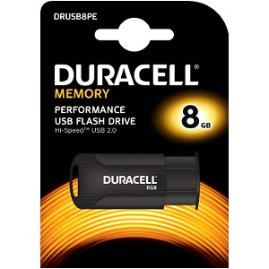 Clé USB 2.0 Duracell 8GB Flash drive