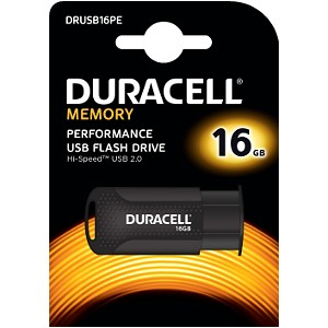 Clé USB 2.0 Duracell 16GB Flash drive
