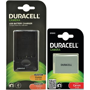 Duracell Replacement Canon LP-E8 Battery/Charger (DRCBCLPE8)