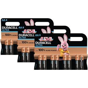 Duracell Ultra Power AA 3 x MX1500B8 (BUN0115A)