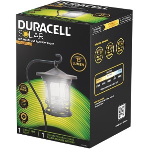 Duracell 15 Lumen LED Multi-use Pathway Light (GL044CBDU)