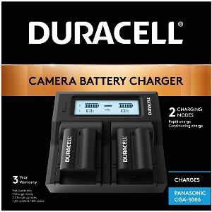 Duracell Panasonic CGA-S006 Dual Battery Charger (DRP6116)