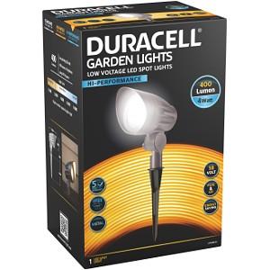 Duracell 400 Lumen LED Garden Spot Light (LV101ORBT-DU)