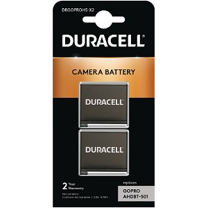 Duracell Replacement GoPro Hero 5, 6, 7 Battery (DRGOPROH5-X2)