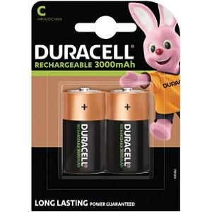 Piles Duracell Rechargeables de type C (HR14)