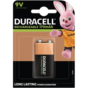 Duracell Rechargeable 9V unitaire (HR9V)