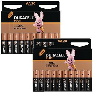 Duracell Plus Power AA Pack de 40 (MN1500-X40)