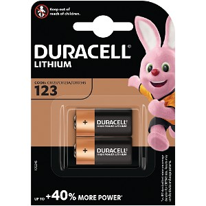 Pack double pile Duracell Ultra (DL123-X2)