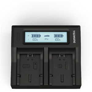 Lumix FZ7BB Panasonic CGA-S006 Dual Battery Charger