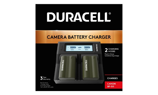 BP-511 Chargeur de batterie double Canon BP-511