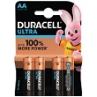 Blister de 4 Duracell Ultra Power AA