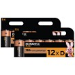 Duracell Plus Power de type D (Pack de 12)